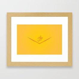 STC Logo Framed Art Print