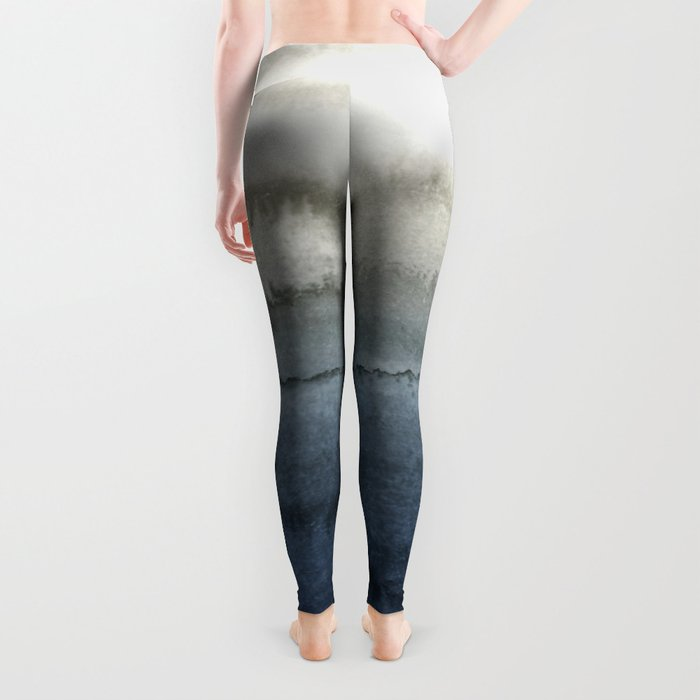 WITHIN THE TIDES - CRUSHING WAVES BLUE Leggings