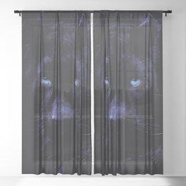 PANTHER Sheer Curtain