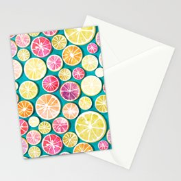Citrus bath Stationery Cards