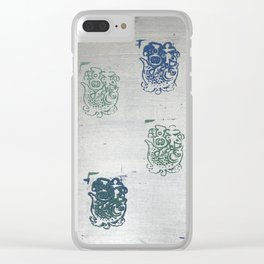 When Trapped Water Makes a New Path Clear iPhone Case