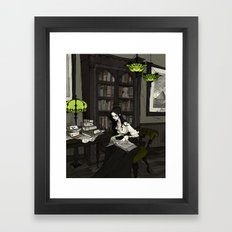 Asenath Framed Art Print