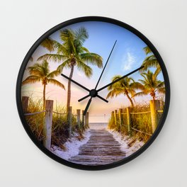 Beach Dreams Wall Clock