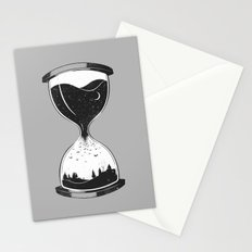 As Night Falls Stationery Cards