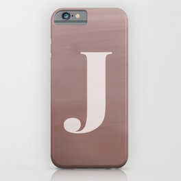 J in case iPhone Case