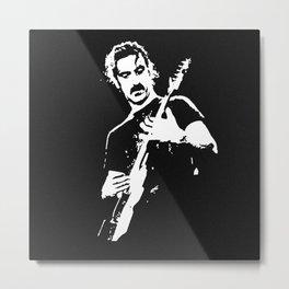 Zappa Guitar Metal Print