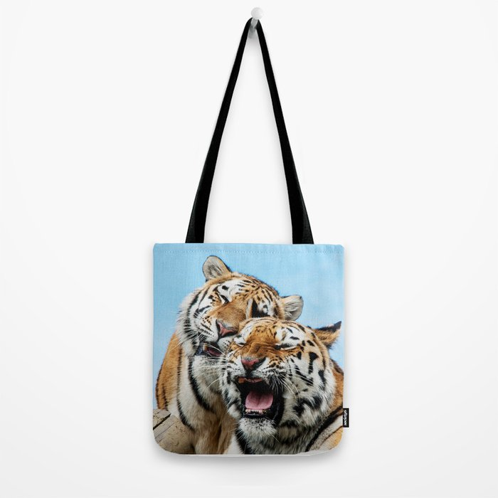 TIGERS - DOUBLE TROUBLE Tote Bag