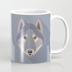 Gray wolf Mug