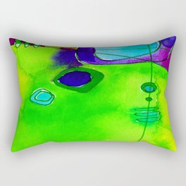 Magical Thinking No. 2M by Kathy Morton Stanion Rectangular Pillow