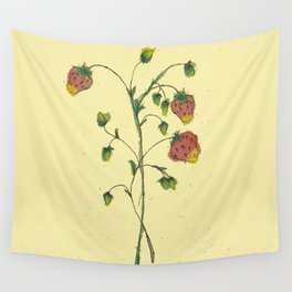 Rosacea Frugaria Wall Tapestry