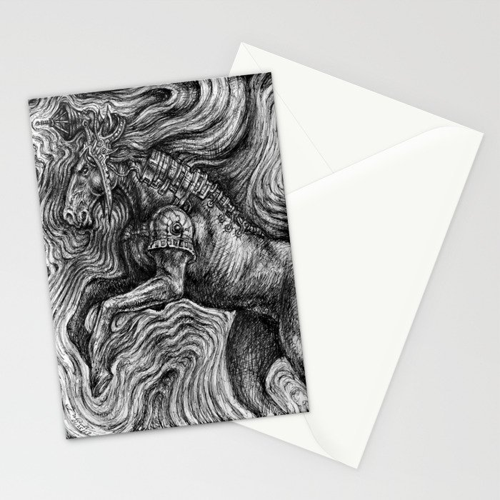 Horse Guardian Stationery Cards
