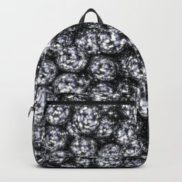 It's Full of Disco / 3D render of hundreds of shiny mirror balls Backpack