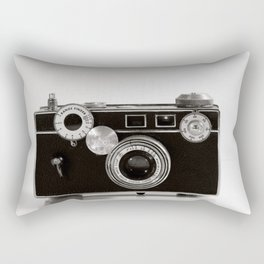 Argus Cintar Rangefinder Camera. Rectangular Pillow