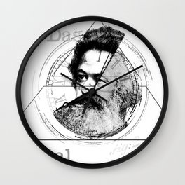 The Time of Marx Wall Clock