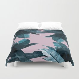 Tropical Palm Print #2 Duvet Cover