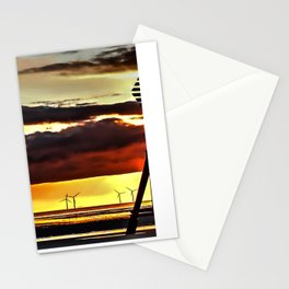 Sun going down Stationery Cards