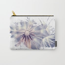 Dandelion Blue Graphic - Horizontal  Carry-All Pouch