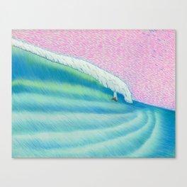MOONMAN X BIGWAVE 2 Canvas Print