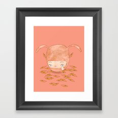 I DON'T MIND IF YOU FORGET ME FOREVER  Framed Art Print