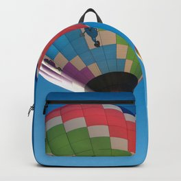 Balloons on Blue Backpack