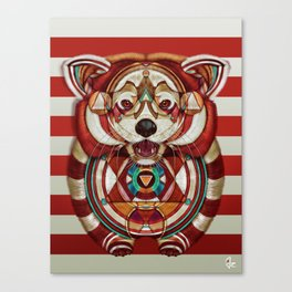 Red Panda by Giulio Rossi Canvas Print