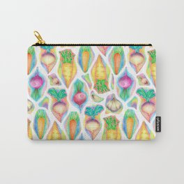 Rainbow Vegetables Carry-All Pouch
