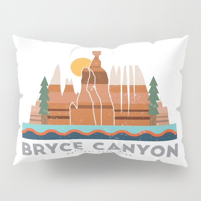 Bryce Canyon National Park Utah Graphic Pillow Sham