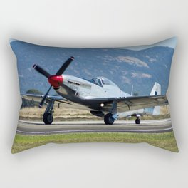 P-51 Mustang Rectangular Pillow