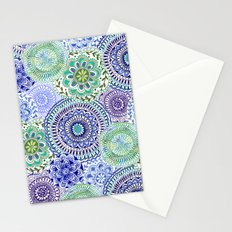 Tossed Mandalas Stationery Cards