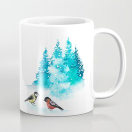 The Heart Of Winter Coffee Mug