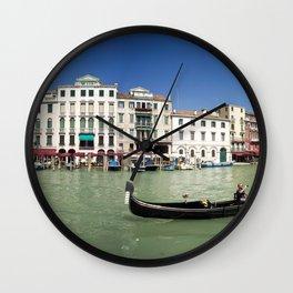 italy - venice - widescreen_600-603 Wall Clock