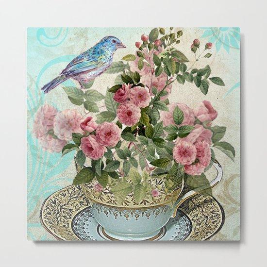 Tea Flower #1 Metal Print