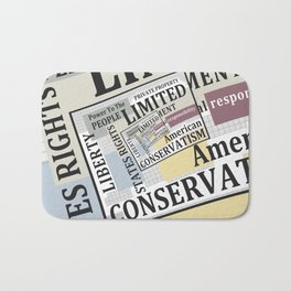 Limited Government Bath Mat