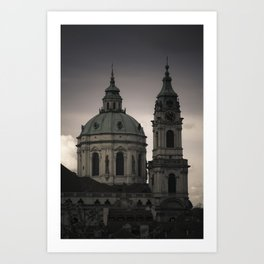 St. Nicholas Church Prague Art Print
