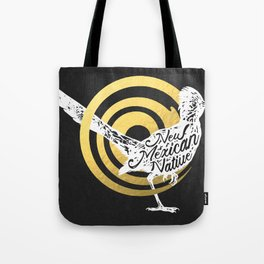 New Mexican Native Roadrunner Tote Bag