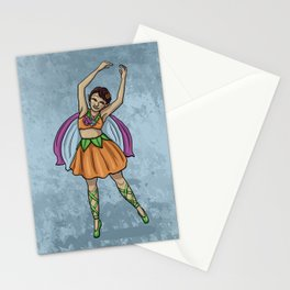 April Fairy Stationery Cards