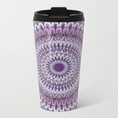 Lavender Petals Metal Travel Mug