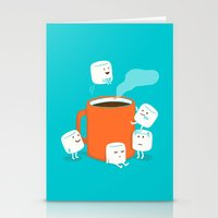 budi Stationery Cards featuring Cannonball by Picomodi