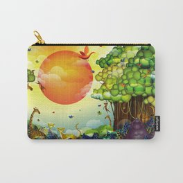 Jungle of colors Carry-All Pouch