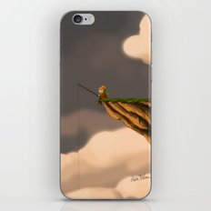 Fishing in the Clouds iPhone Skin