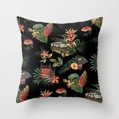 Classic Jurassic Throw Pillow