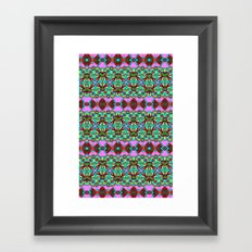 Pretty Pattern Framed Art Print