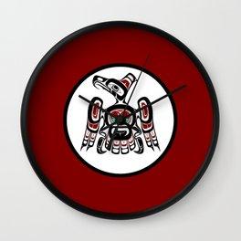 Northwest Pacific coast Kaigani Thunderbird Wall Clock