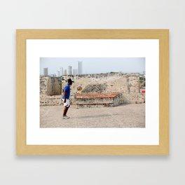 Ismael in Cartegena  Framed Art Print