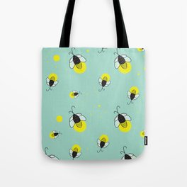 Lightnin' Bugs Tote Bag