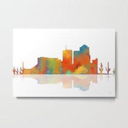 Tucson Skyline Metal Print
