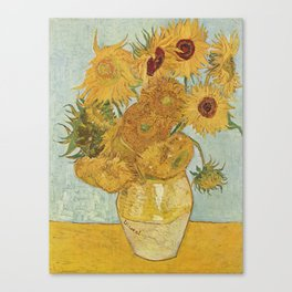 Vincent van Gogh's Sunflowers Canvas Print