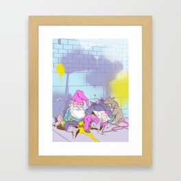 Gnomeless Framed Art Print
