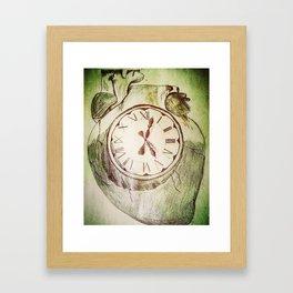 Internal Time Framed Art Print