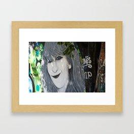 INES Framed Art Print